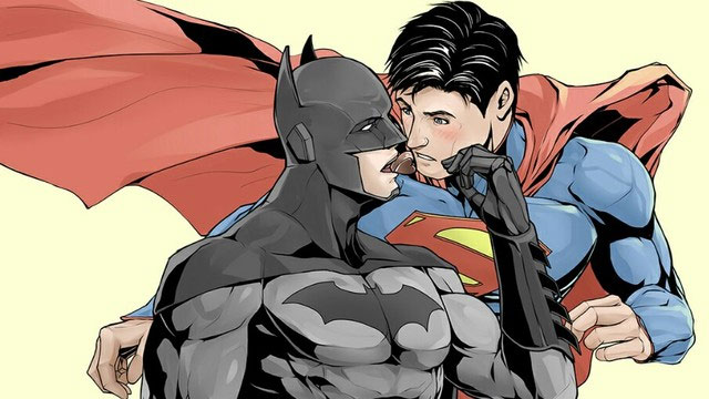 Бэтмен и супермен порно комиксы
