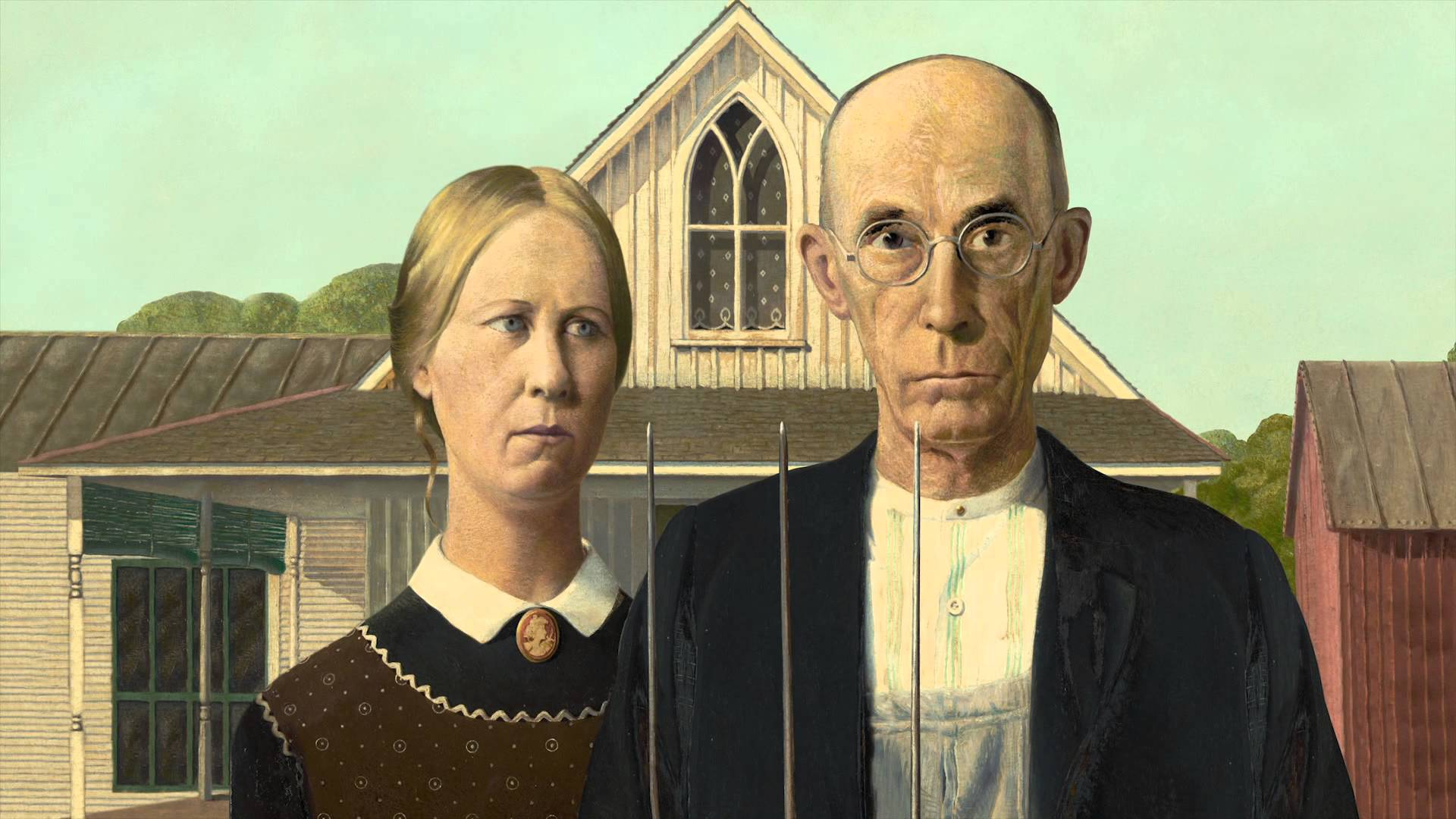grant wood and the american gothic Grant wood (1891-1942) is best-known for his painting american gothic, one of the most recognizable portraits in history, but there is much that is unfamiliar about the artist himself.